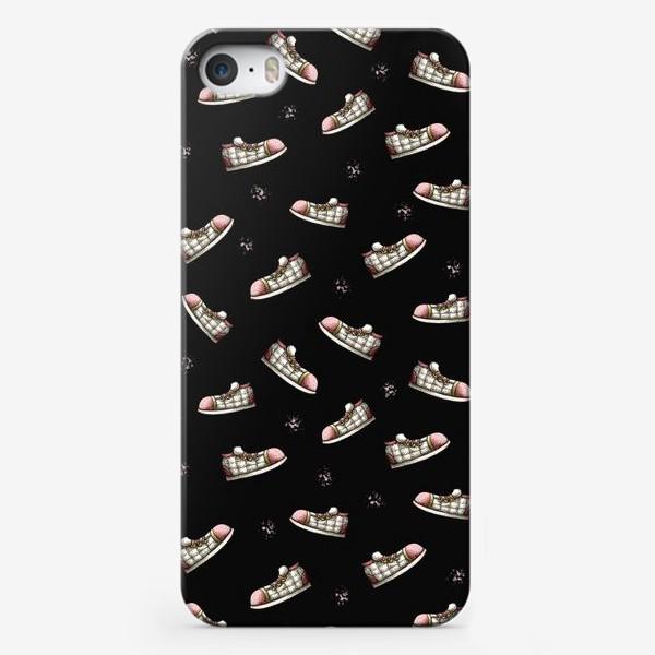 Чехол iPhone «Паттерн с обувью»