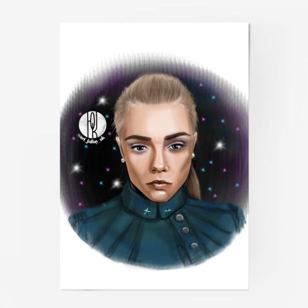 Постер «Девушка в космосе »