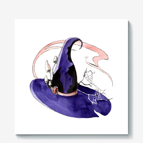 Холст «Шляпа ведьмы»