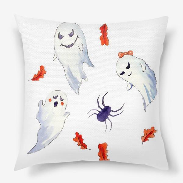 Подушка «Милые приведения на Хэллоуин »