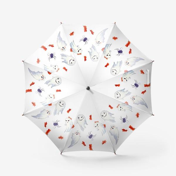 Зонт «Милые приведения на Хэллоуин »