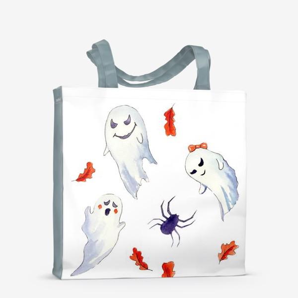 Сумка-шоппер «Милые приведения на Хэллоуин »