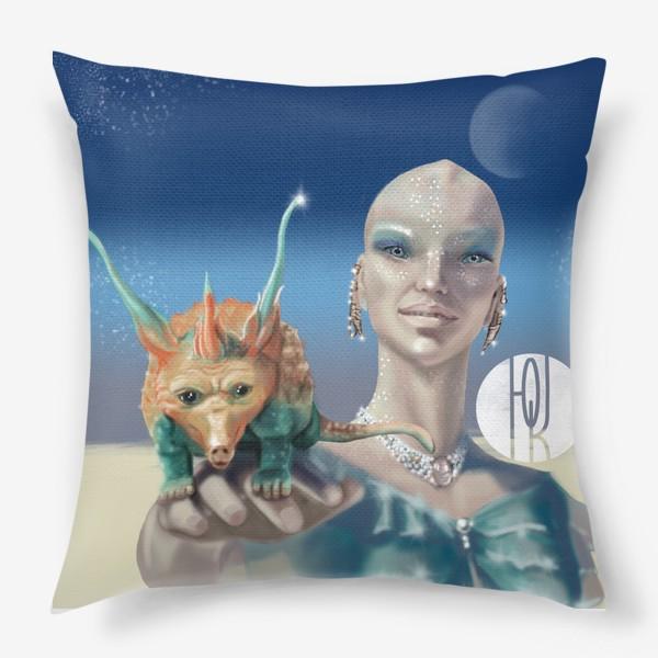 Подушка «Принцесса перлов планеты мю »