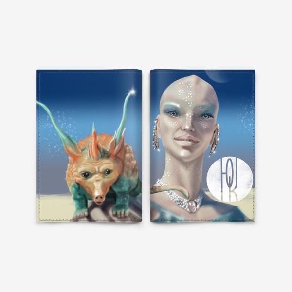 Обложка для паспорта «Принцесса перлов планеты мю »