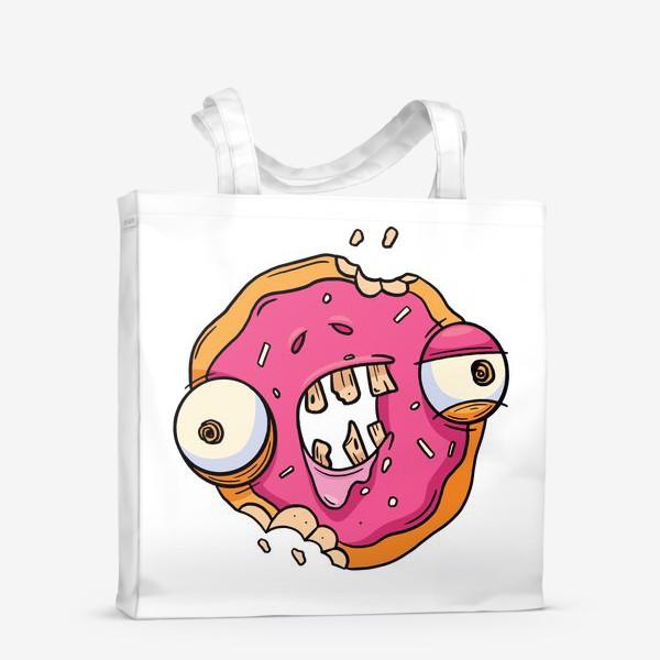 Сумка-шоппер «Зомби Пончик»