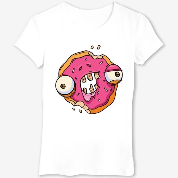 Футболка «Зомби Пончик»