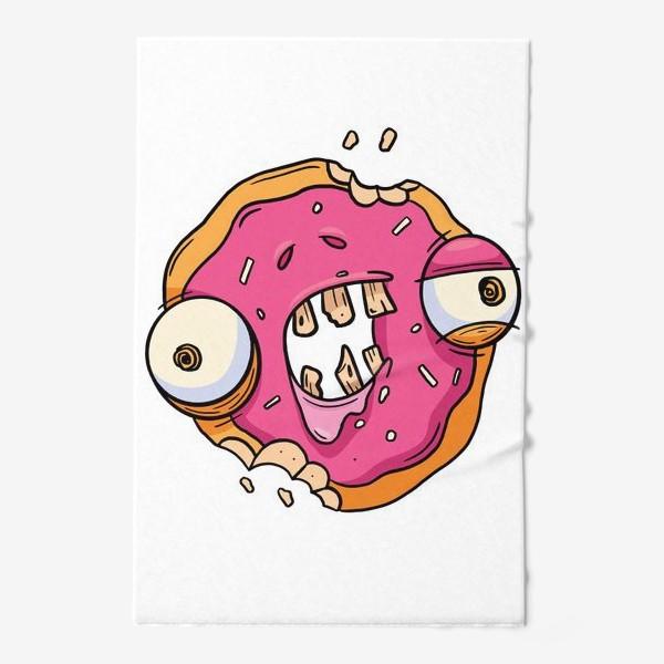 Полотенце «Зомби Пончик»