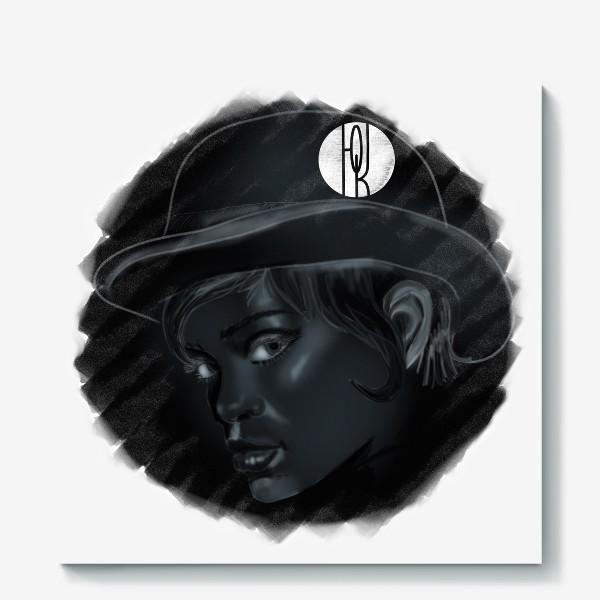 Холст «Девушка »