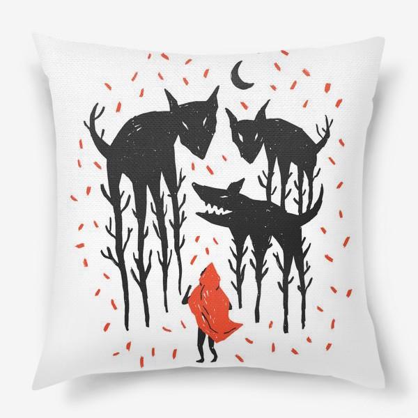 Подушка «Красная Шапочка»