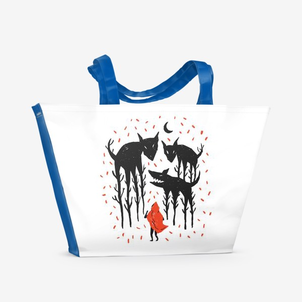 Пляжная сумка «Красная Шапочка»