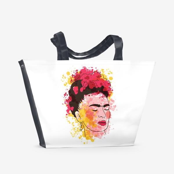 Пляжная сумка «Фрида Кало»