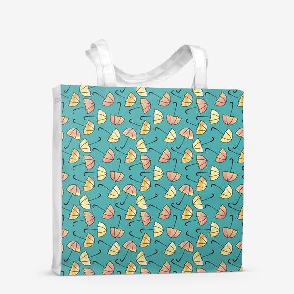Сумка-шоппер «Зонты»