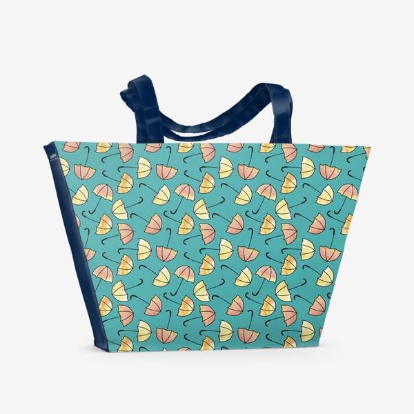 Пляжная сумка «Зонты»
