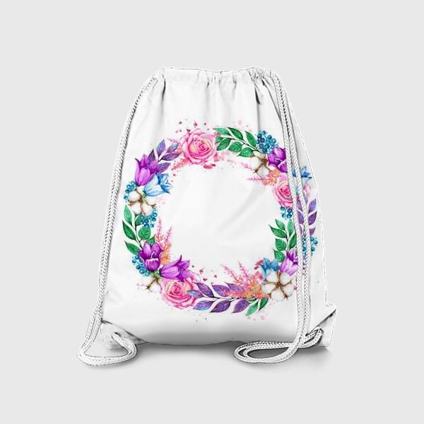 Рюкзак «Венок с колокольчиками»