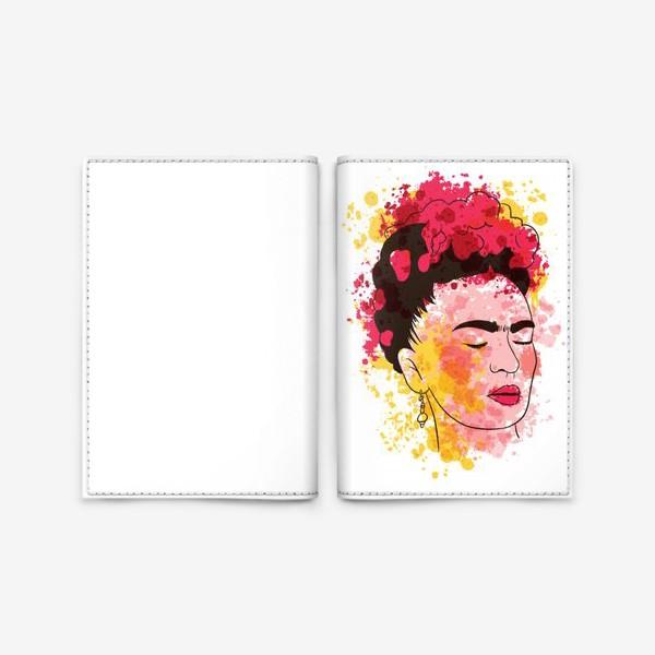Обложка для паспорта «Фрида Кало»