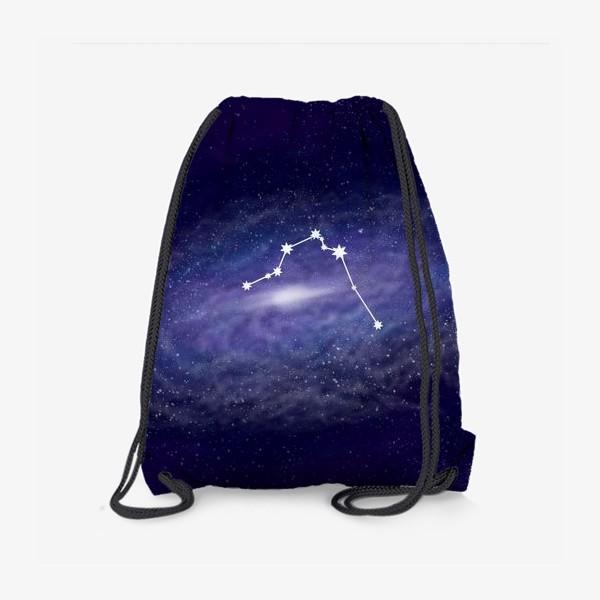Рюкзак «Созвездие Водолей. Галактика»