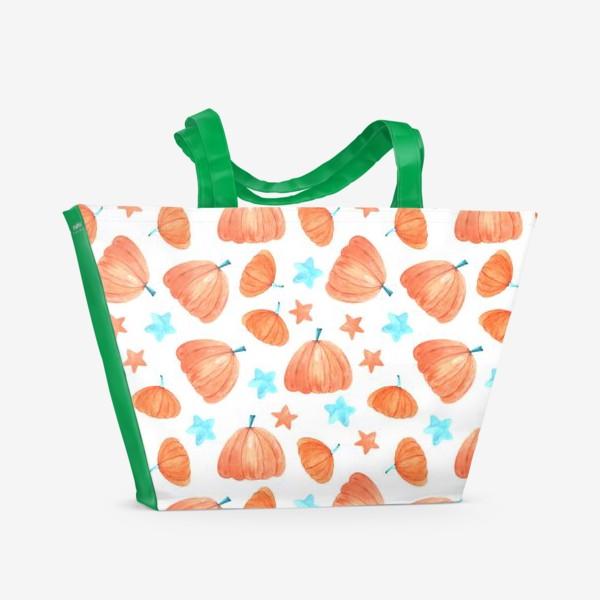 Пляжная сумка «Тыквы»