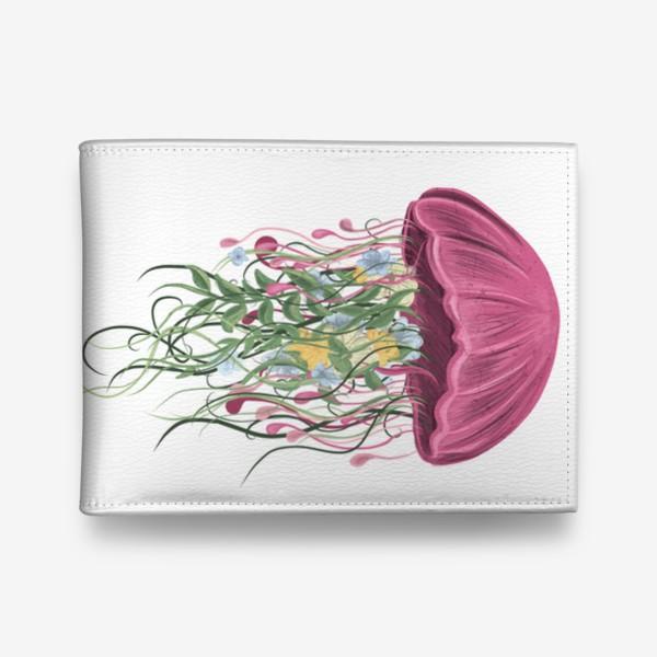 Кошелек «Медуза и цветы»