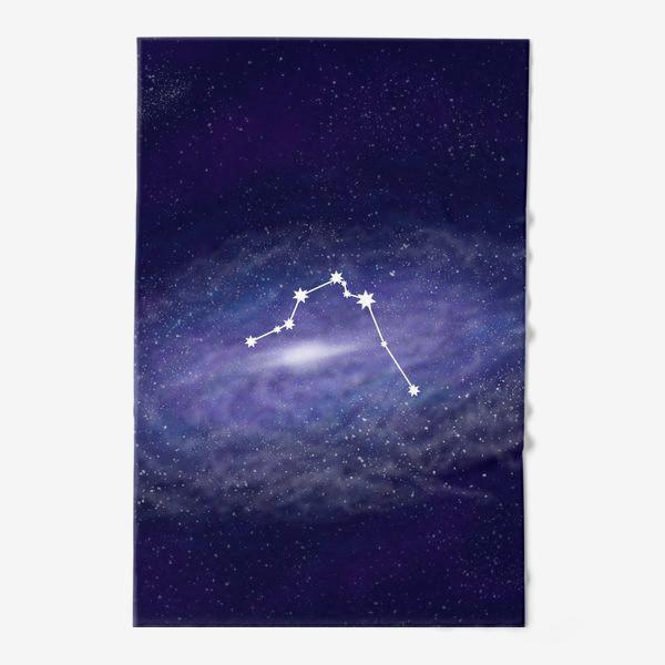 Полотенце «Созвездие Водолей. Галактика»