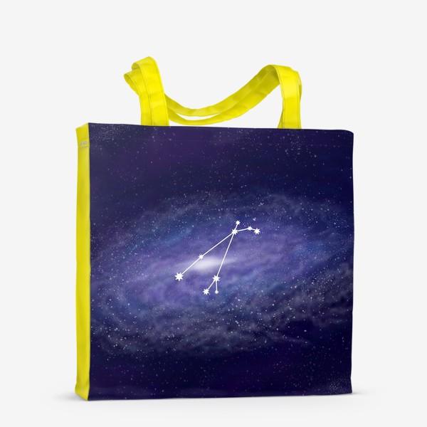 Сумка-шоппер «Созвездие Овен. Галактика»