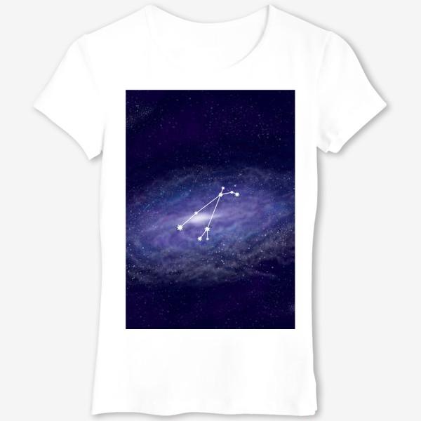 Футболка «Созвездие Овен. Галактика»