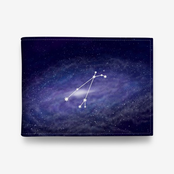 Кошелек «Созвездие Овен. Галактика»