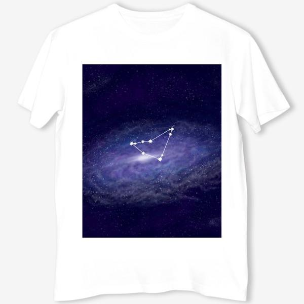 Футболка «Созвездие Козерог. Галактика»