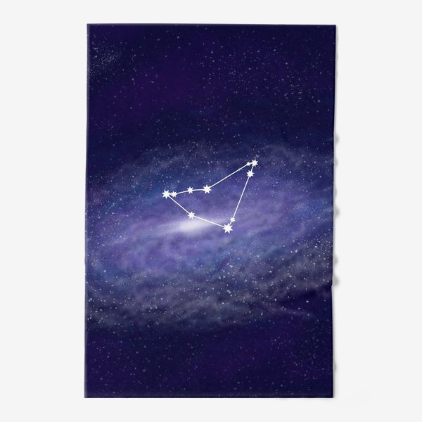 Полотенце «Созвездие Козерог. Галактика»