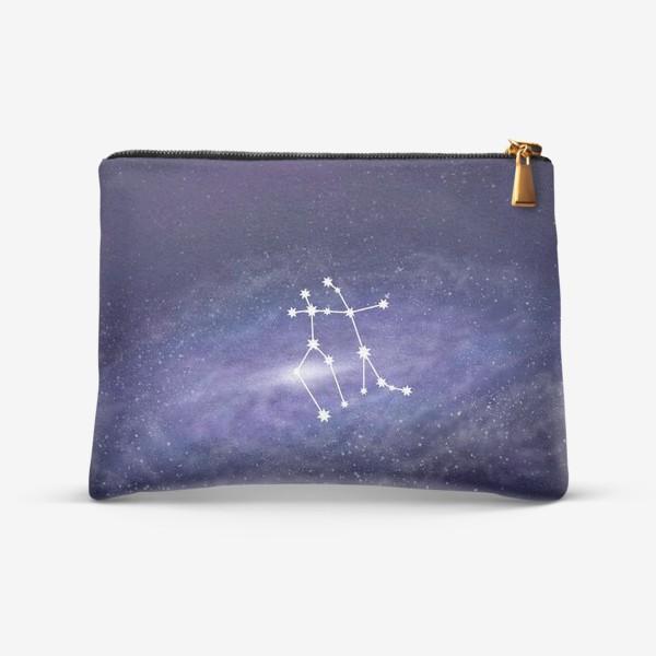 Косметичка «Созвездие Близнецы. Галактика»