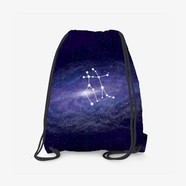 Рюкзак «Созвездие Близнецы. Галактика»