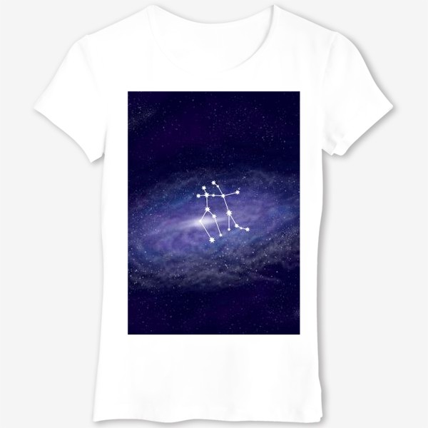 Футболка «Созвездие Близнецы. Галактика»