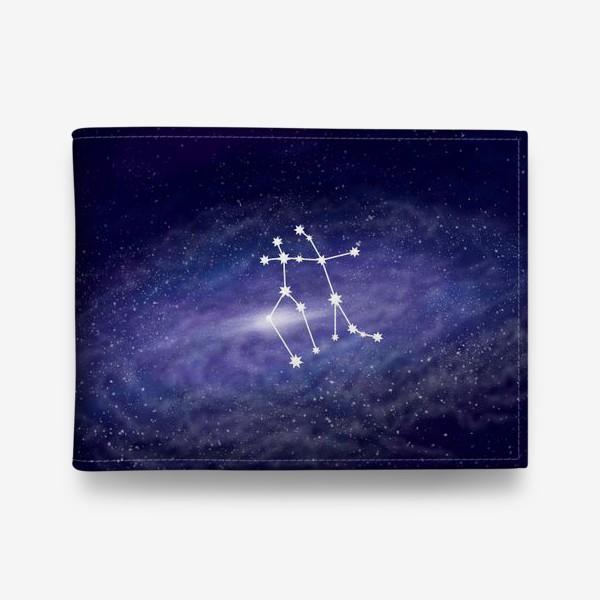 Кошелек «Созвездие Близнецы. Галактика»