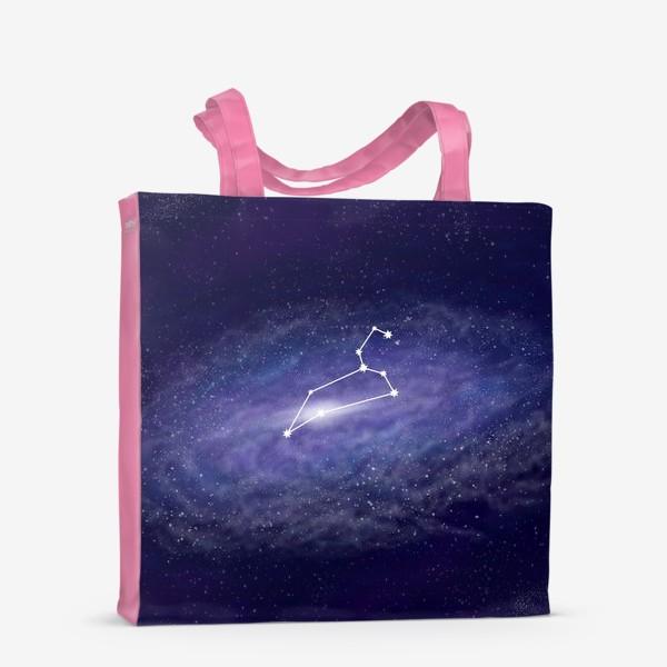Сумка-шоппер «Созвездие Лев. Галактика»