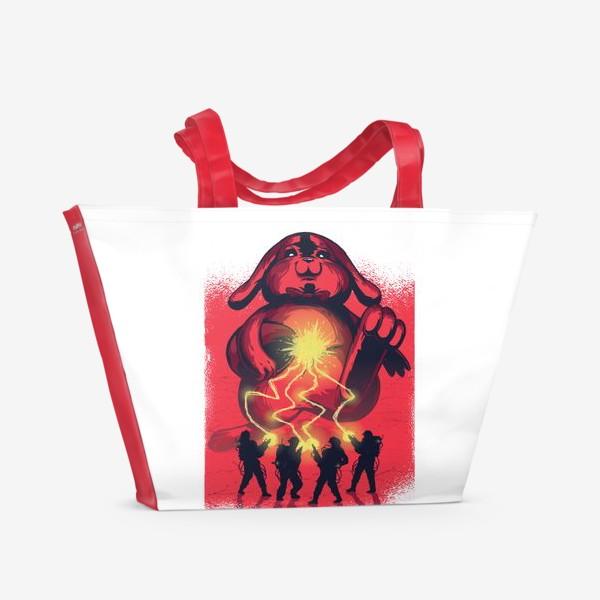 Пляжная сумка «Охотники за пасхальным Кроликом»