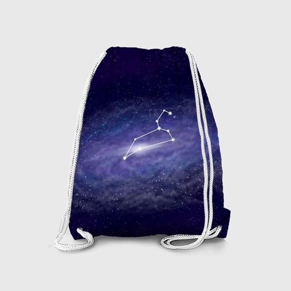 Рюкзак «Созвездие Лев. Галактика»