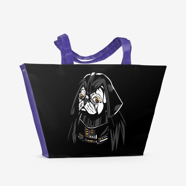 Пляжная сумка «Дарт Мопс»
