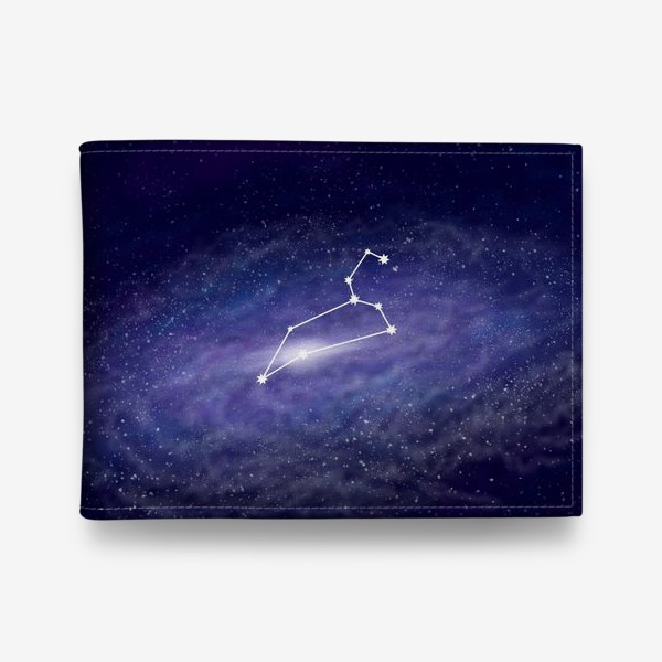 Кошелек «Созвездие Лев. Галактика»