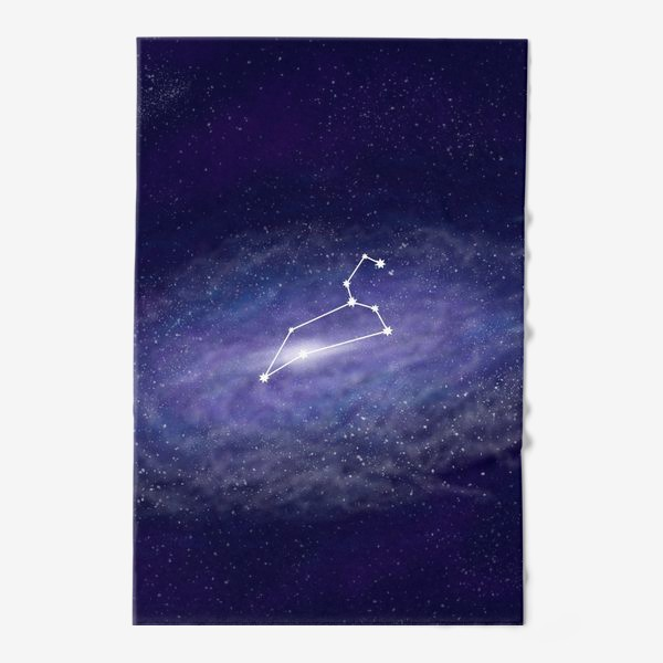 Полотенце «Созвездие Лев. Галактика»