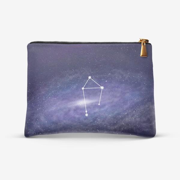 Косметичка «Созвездие Весы. Галактика»