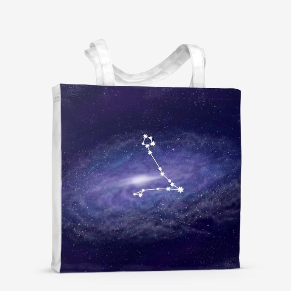Сумка-шоппер «Созвездие Рыбы. Галактика»