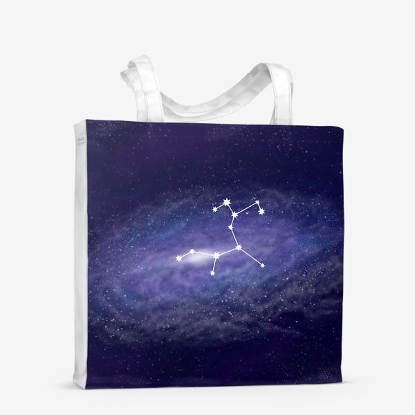Сумка-шоппер «Созвездие Стрелец. Галактика»