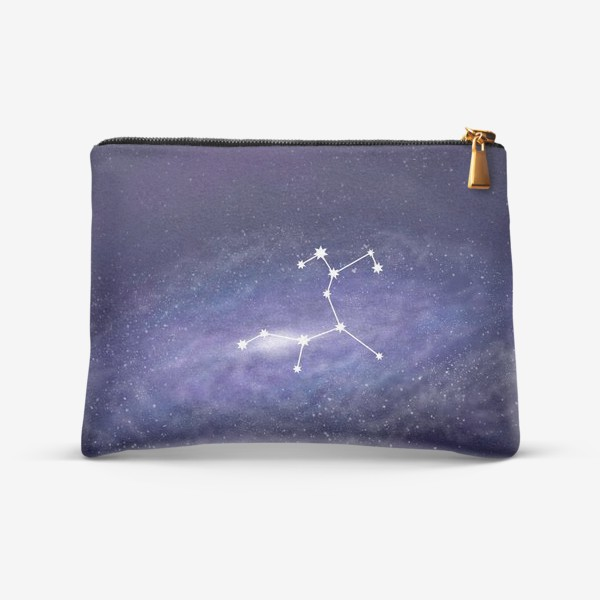 Косметичка «Созвездие Стрелец. Галактика»