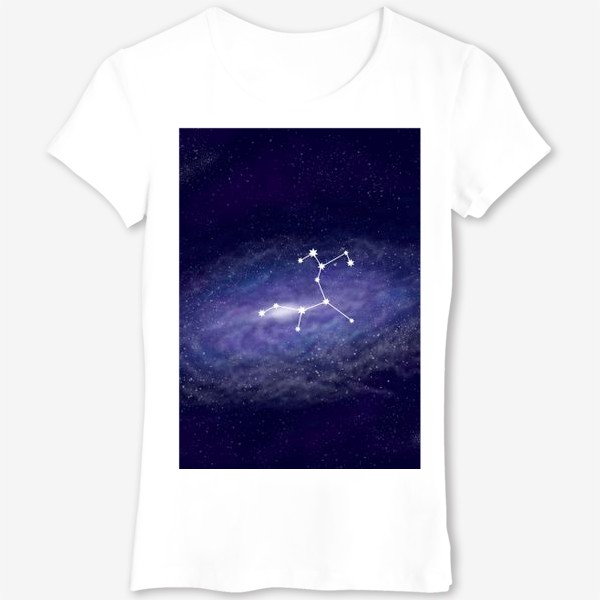 Футболка «Созвездие Стрелец. Галактика»