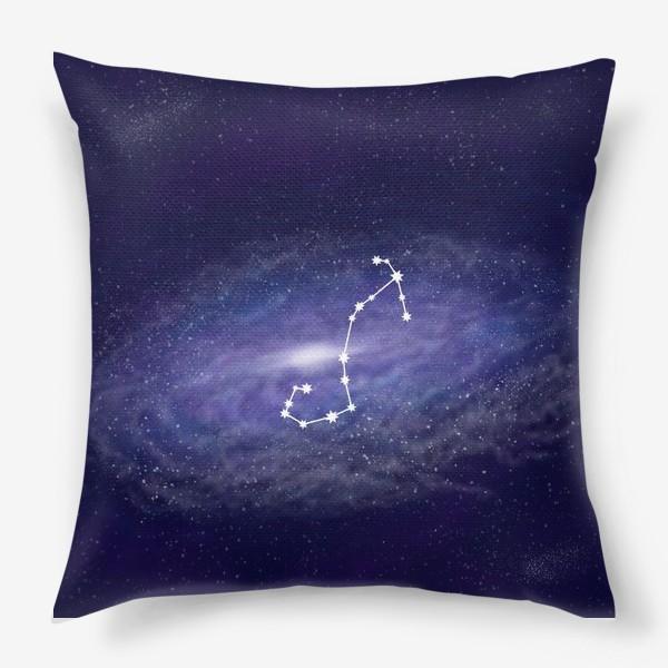 Подушка «Созвездие Скорпион. Галактика»