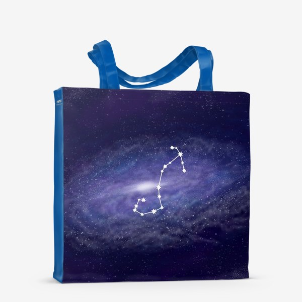 Сумка-шоппер «Созвездие Скорпион. Галактика»