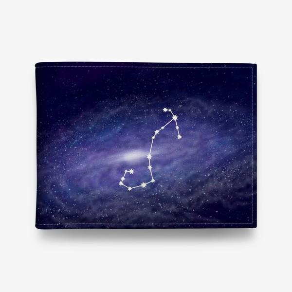 Кошелек «Созвездие Скорпион. Галактика»