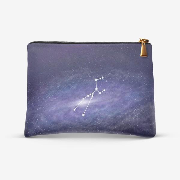 Косметичка «Созвездие Телец. Галактика»