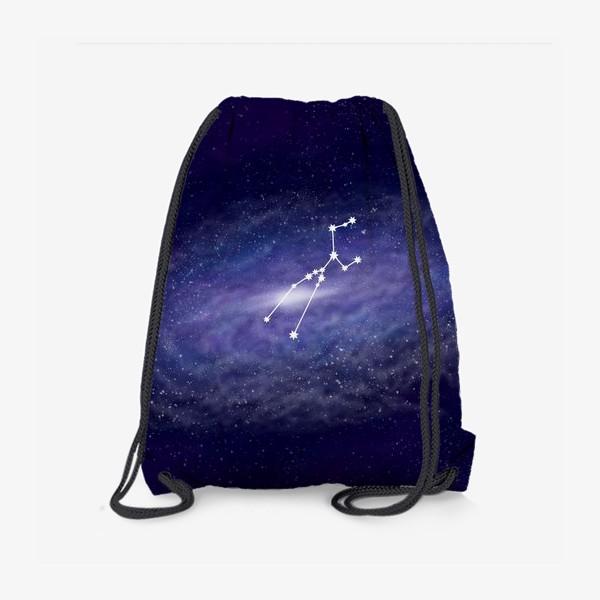 Рюкзак «Созвездие Телец. Галактика»