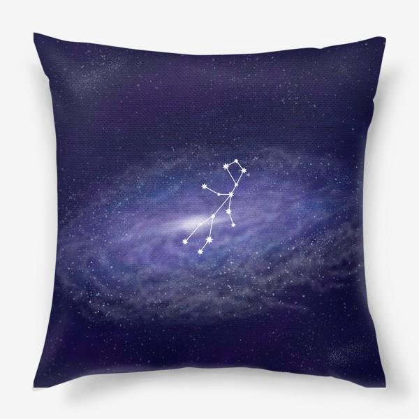 Подушка «Созвездие Дева. Галактика»
