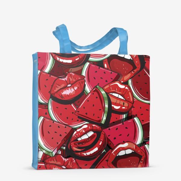 Сумка-шоппер «Sweet lips»